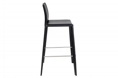 Moderná barová stolička Neapol čierna