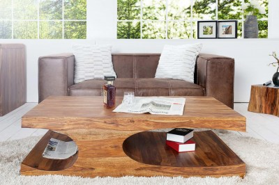 Luxusný konferenčný stolík masiv Island