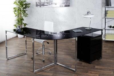 Luxusný kancelársky stôl Atelier čierny