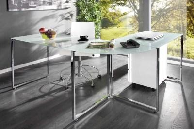 Luxusný kancelársky stôl Atelier biely