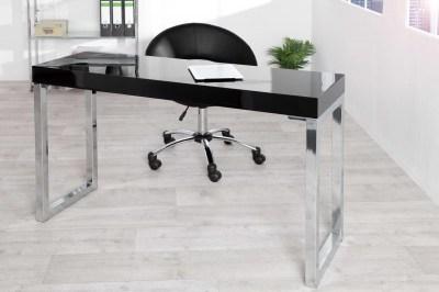 Luxusný stolík pre notebook – laptop  Office čierny