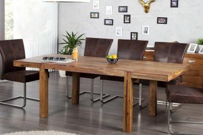 Luxusný jedálenský stôl z masívu rozkladací 120-200cm Las Palmas