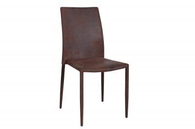 dizajnová jedálenská stolička Neapol Antik hnedá