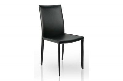 Luxusná jedálenská stolička Neapol čierna