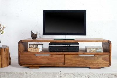 Luxusný TV stolík Island z masívu