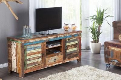 Dizajnový TV stolík Jacktar z masívu
