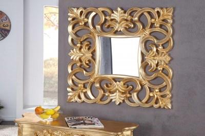Luxusné zrkadlo Veneto zlaté