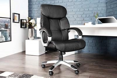 Luxusná kancelárska stolička Powerful do 150kg čierna
