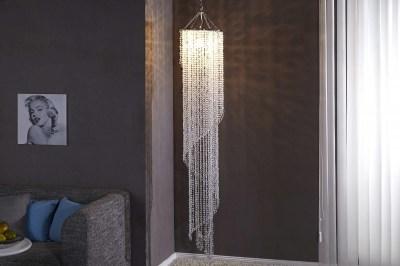 Luxusná závesná lampa Crystal