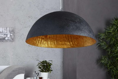 Dizajnová lampa Glimer 50cm čierno-zlatá