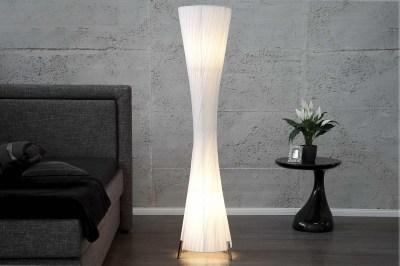 Dizajnová stojanová lampa SPIRAL XXL biela