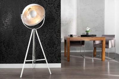 Dizajnová stojanová lampa STAGE biela
