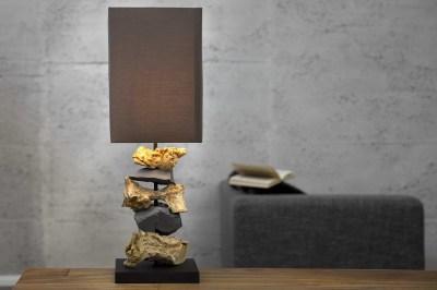 Dizajnová stolná lampa RUDIMENTS