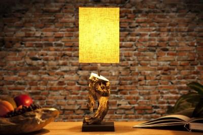 Dizajnová stolná lampa REST béžová