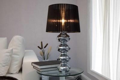 Dizajnová stolná lampa Milly čierna