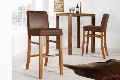 Luxusná barová stolička Clemente Vintage Look