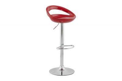 Dizajnová barová stolička Mason červená