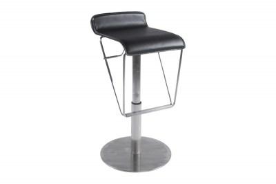Moderná barová stolička Jacob čierna