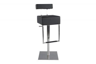 Moderná barová stolička James čierna