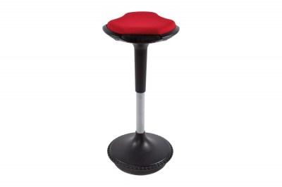Moderná barová stolička Caleb červená