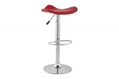 Moderná barová stolička Connor červená