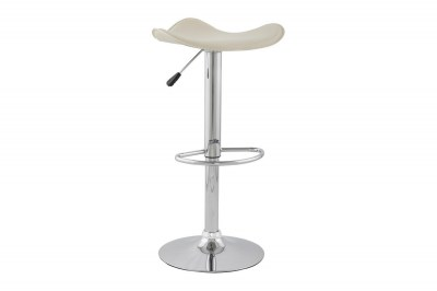Moderná barová stolička Connor krémová