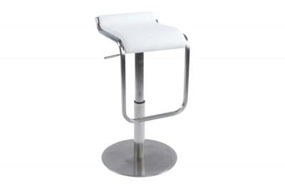 Moderná barová stolička Carter biela
