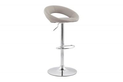 Moderná barová stolička Dylan sivá