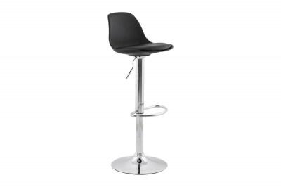 Moderná barová stolička Landon čierna