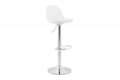 Moderná barová stolička Landon biela
