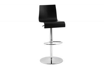 Moderná barová stolička Cameron čierna
