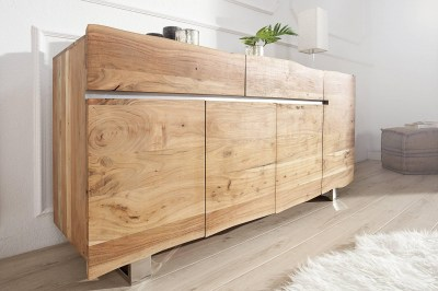 Luxusná komoda Massive 170cm z masívneho Agátového dreva