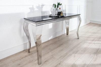 Dizajnová konzola - toaletný stolík Rococo 140cm