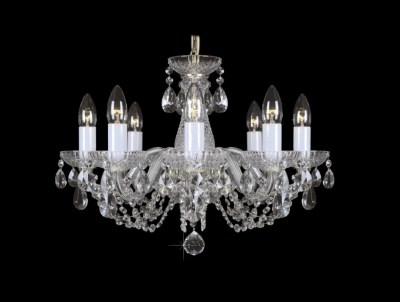 Krištálový luster Classic R8 bohemia sklenený