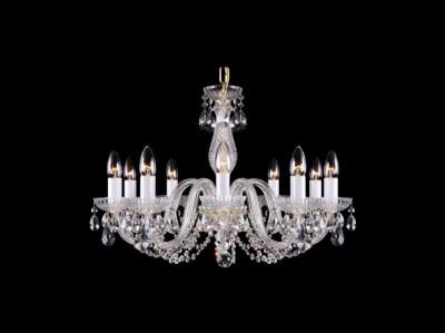 Krištálový luster Classic R10 bohemia sklenený