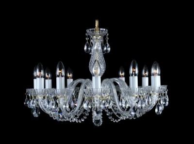 Krištálový luster Classic R12 Bohemia sklenený