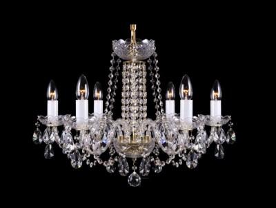 Krištálový luster Premium R6-1 Bohemia sklenený