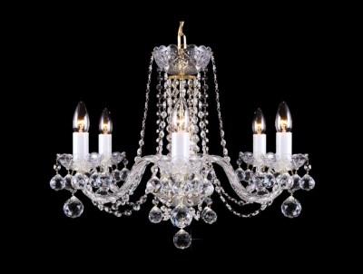 Krištálový luster Premium R6-4 Bohemia sklenený