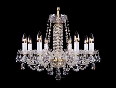 Krištálový luster Premium R8 Bohemia sklenený