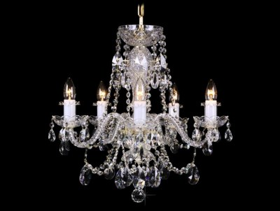 Krištálový luster Grande R5 Bohemia sklenený