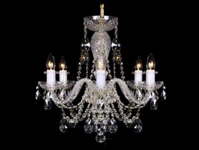 Krištálový luster Grande R6 Bohemia sklenený