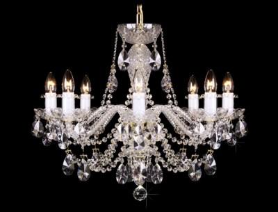 Krištálový luster Grande R8 Bohemia sklenený