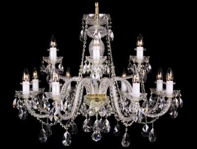 Krištálový luster Grande R12-2 Bohemia sklenený