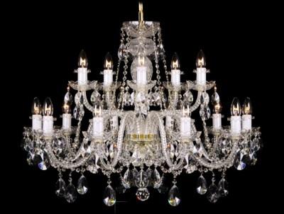 Krištálový luster Grande R15 Bohemia sklenený