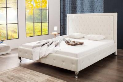 Dizajnová manželská posteľ Spectacular biela 180 x 200cm