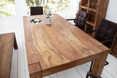 Luxusný jedálenský stôl z masívu Timber 160cm