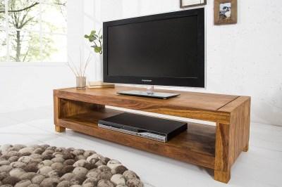 Luxusný TV stolík Santana z masívu