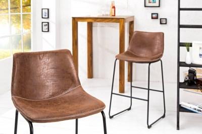 Dizajnová stolička Alba hnedá