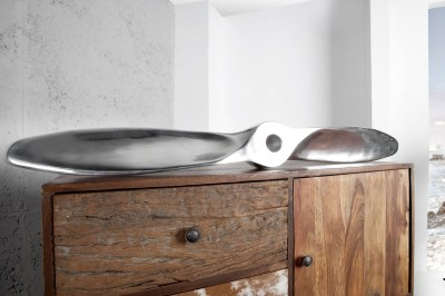 Dekorácia Wade 110cm strieborná