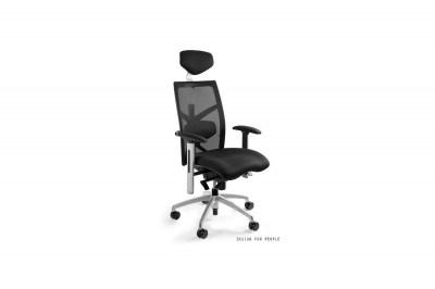 Kancelárska stolička Ester s farebným sedadlom